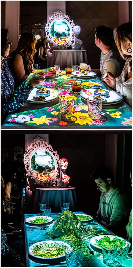 Restaurant immersif Le banquet of hoshena